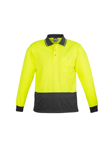 Syzmik Unisex Day Only Basic Polo - Long Sleeve (ZH232)