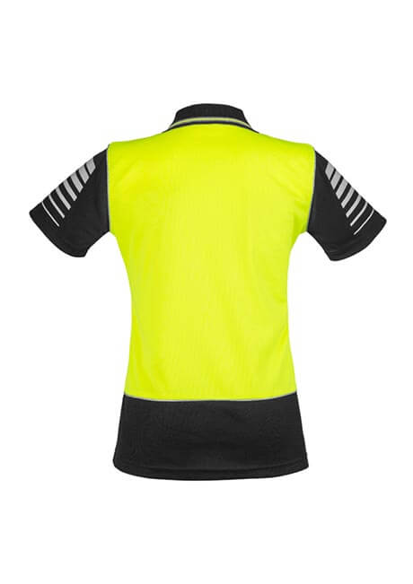 Syzmik Womens Hi Vis Zone Polo (ZHL236)