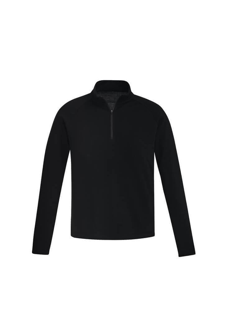 Syzmik Mens Merino Wool Mid-Layer Pullover (ZT766)
