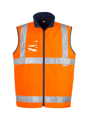 Syzmik Mens Hi Vis Lightweight Fleece Lined Vest (ZV358)