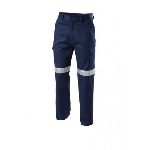 Hard Yakka Foundations Drill Cargo Pant With Tape (Y02750)