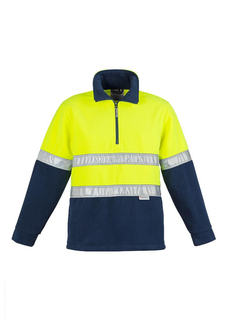 Syzmik Hi Vis Polar Fleece Jumper - Hoop Taped (ZT461)