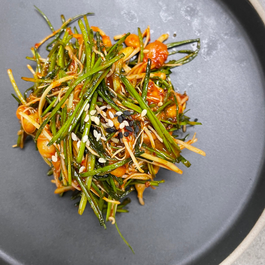 Sweet & Spicy Wild Chive salad 봄 달래 무침 (100g)