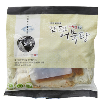 [Omadeng] Assorted Fish Cake (with Soup sauce) [오마뎅] 간편 어묵탕 (550g)