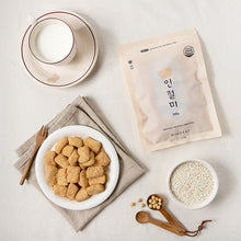 Load image into Gallery viewer, [WingEat] One Bite Mini Injeolmi Rice Cake [윙잇] 한입 인절미 (유기농 설탕, 200g)