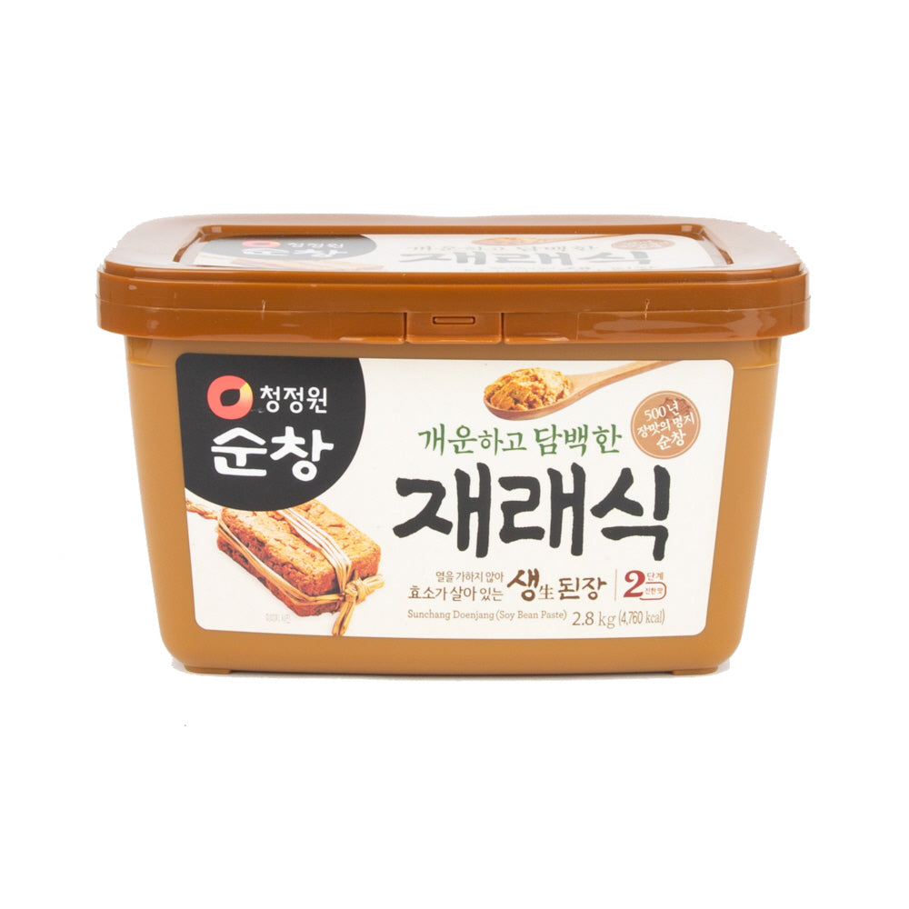 [Soonchang] Soybean Miso Paste [순창] 재래식 생된장 (500g)