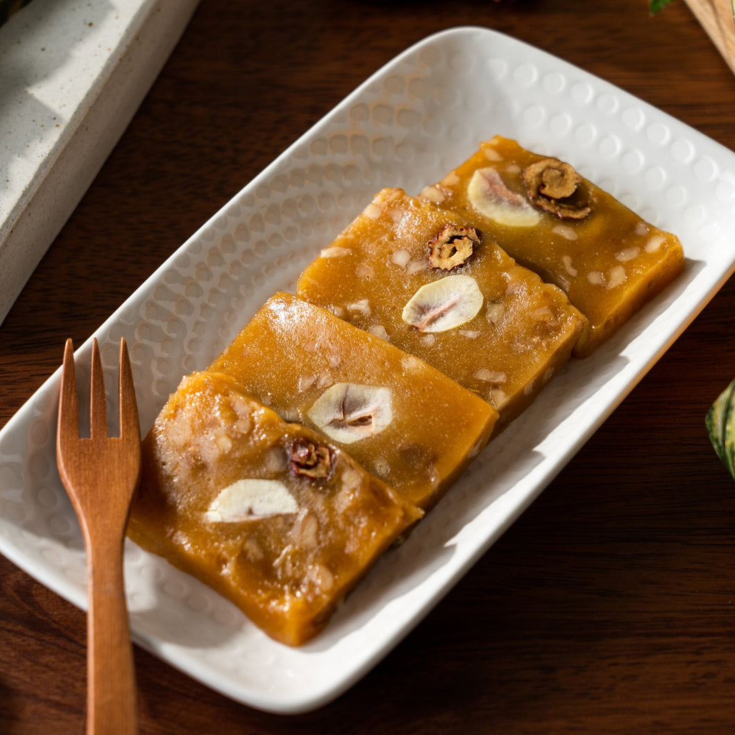[ChangEok] Pumpkin Glutinous Cloud Rice Cake Bar [창억떡] 호박 구름 떡 (400g/10개입)