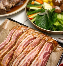 Load image into Gallery viewer, Pork Belly with homemade Seasoning - Raw 홈메이드 양념 통삼겹살 (500g)