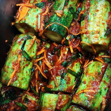 Load image into Gallery viewer, Cucumber Kimchi 오이 소박이 (1kg)
