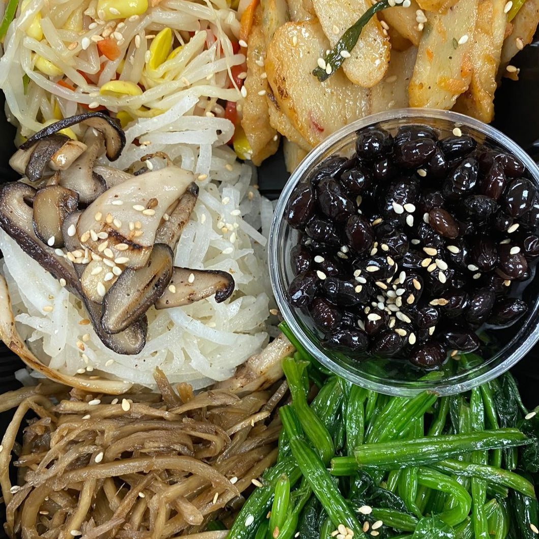 Side Dish Set (5-6 kinds) 반찬세트 (5-6종류)