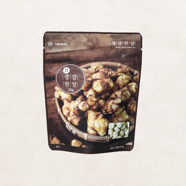 [Trunas] Freeze Dried Minced Ginger [트루나스] 생강 한알 (20g)