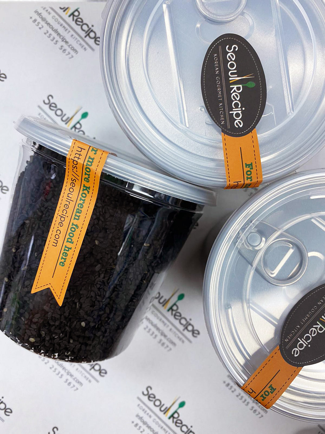 Roasted Black Sesame  볶음 통참깨 (흑) (200g)