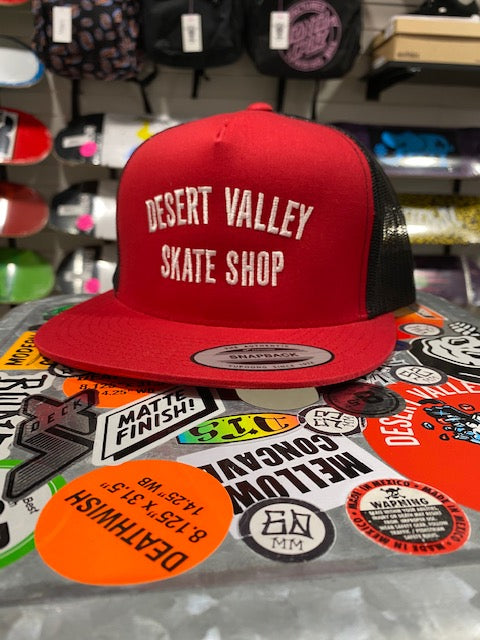 Desert Valley Skate Trucker Cap Assorted