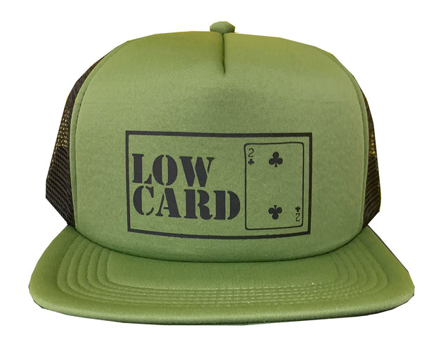 LOW CARD MAG Boxed Logo Mesh Hat
