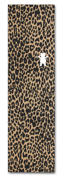 GRIZZLY ELI REED CHEETAH SKATEBOARD GRIP TAPE SHEET