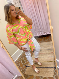 Adrienne Tropical Top