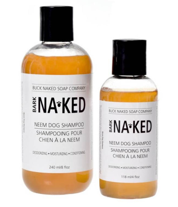 Buck Naked Neem Dog Shampoo