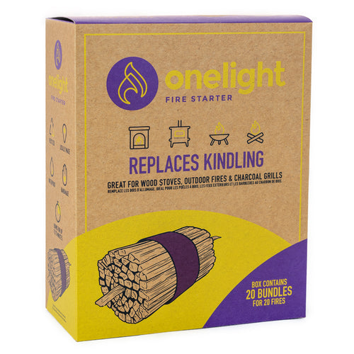 CB-3300 Onelight Fire Starter (Pack of 20)