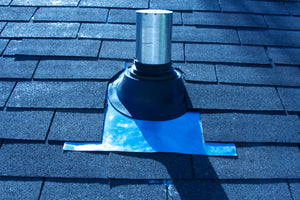 CB-RS201RA High Temperature Boot Flashing (Shingled Roof)