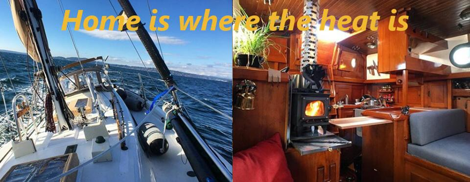 Grizzly tiny wood stove for Marine Boats