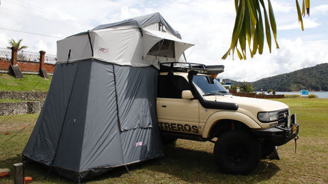 Dobinsons 4x4 Deluxe Roof Top Tent (RTT) with Change (Annex) Room(CE80-3924)