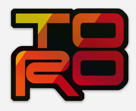"TORO - 3"" Holographic Sticker"