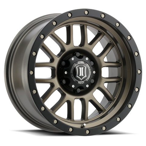 "ICON Alloys - 17"" Alpha Wheels - Bronze (5 X 5"")"