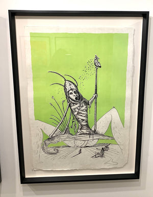 Original Salvador Dali Signed and Numbered from Pantagruel C (Green)