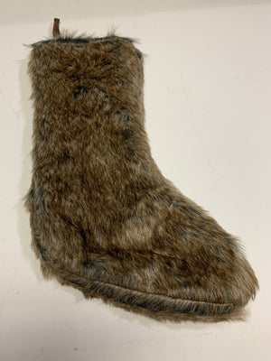 Brand New!! Faux Fur Stocking
