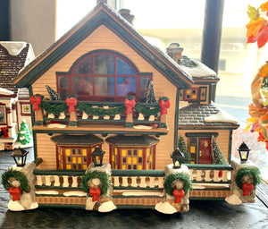 Department 56 Christmas Village- Village Home