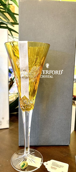 Waterford Lismore Champagne Glass - Limited Edition (Amber)