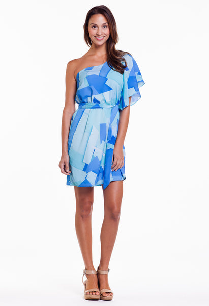 GEORGIA DRESS - TOSSED PRINT
