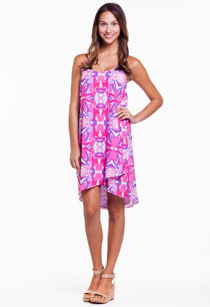 MAGDALENA DRESS - PETALS PRINT