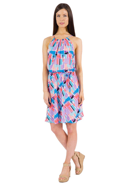 ANYA TANK DRESS - DREAM PRINT