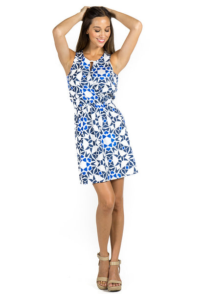BAILEY DRESS - BOSTON PRINT