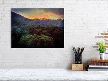 Load image into Gallery viewer, SUNSET IN THE JUNGLE