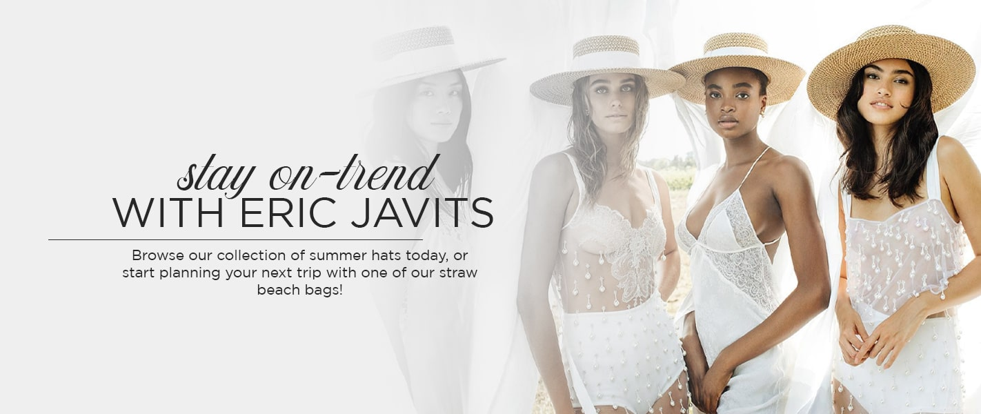 Stay On-Trend With Eric Javits