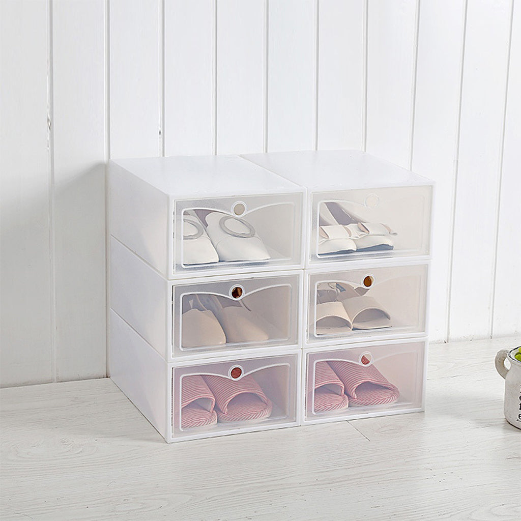 Transparent Storage For Shoe Boxes - Storage Organizer