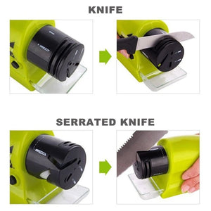 Cordless Electric Knife Sharpener - Knife Sharpening Household Tool
