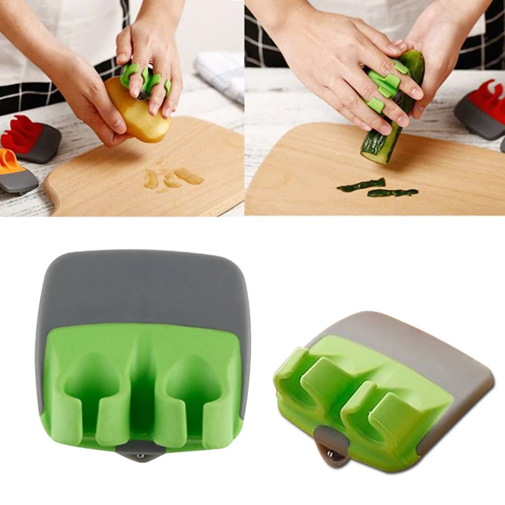 Stainless Steel Finger Fruit, Vegetables Peeler