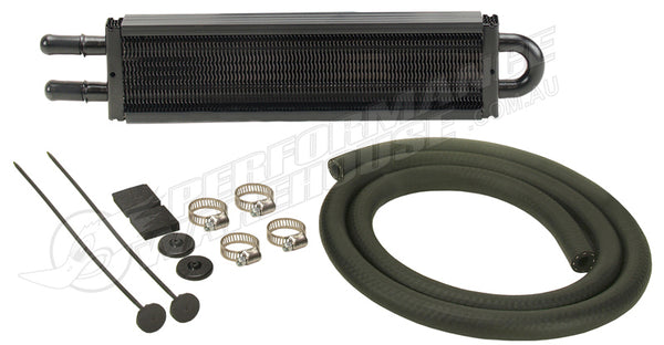 "DERALE 8"" COPPER/ALUMINIUM POWER STEERING OIL COOLER KIT 13213 HOLDEN FORD"