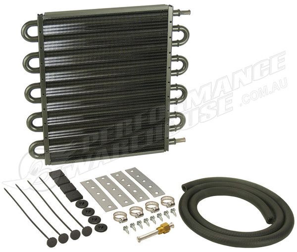 DERALE 10 PASS 13 INCH SERIES 7000 TRANSMISSION OIL COOLER KIT 13208