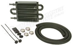 DERALE 8 INCH COPPER/ALUMINIUM POWER STEERING OIL COOLER KIT 13212 HOLDEN FORD