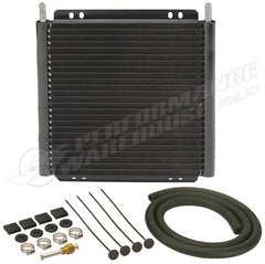 DERALE 24 ROW SERIES 8000 PLATE & FIN TRANSMISSION COOLER KIT 13504
