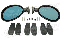 TRIPLE A California Classic Style Door Mirror Set R & LH
