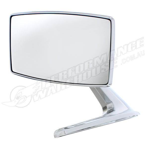 1967-1968 FORD MUSTANG STANDARD EXTERIOR MIRROR KIT CHROME EACH