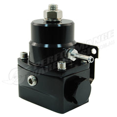 CAL CUSTOM ALUMINIUM EFI FUEL PRESSURE REGULATOR BLACK