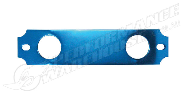 BATTERY TIE DOWN BLUE ALUMINIUM, HONDA CIVIC & INTEGRA