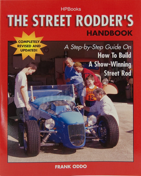 HP BOOK THE STREET RODDER'S HANDBOOK #HP1409