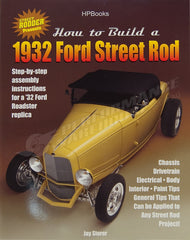 HP BOOK HOW TO BUILD A 1932 FORD STREET ROD #HP1478
